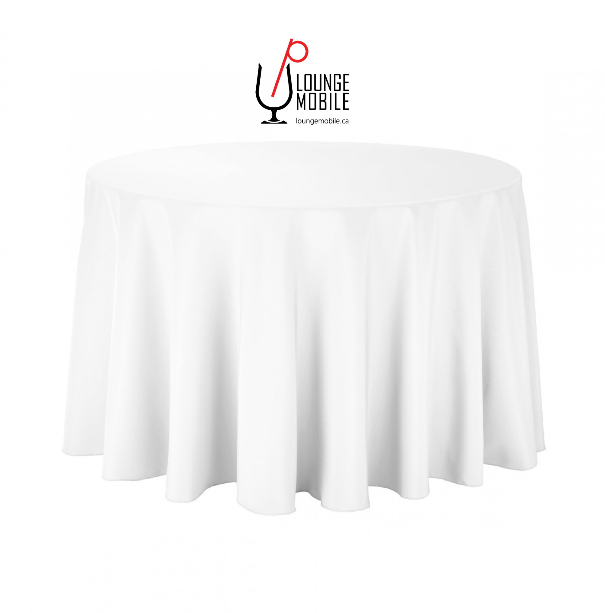 nappe ronde polyester 108 39 39 blanche nappes les productions c l brason site officiel. Black Bedroom Furniture Sets. Home Design Ideas