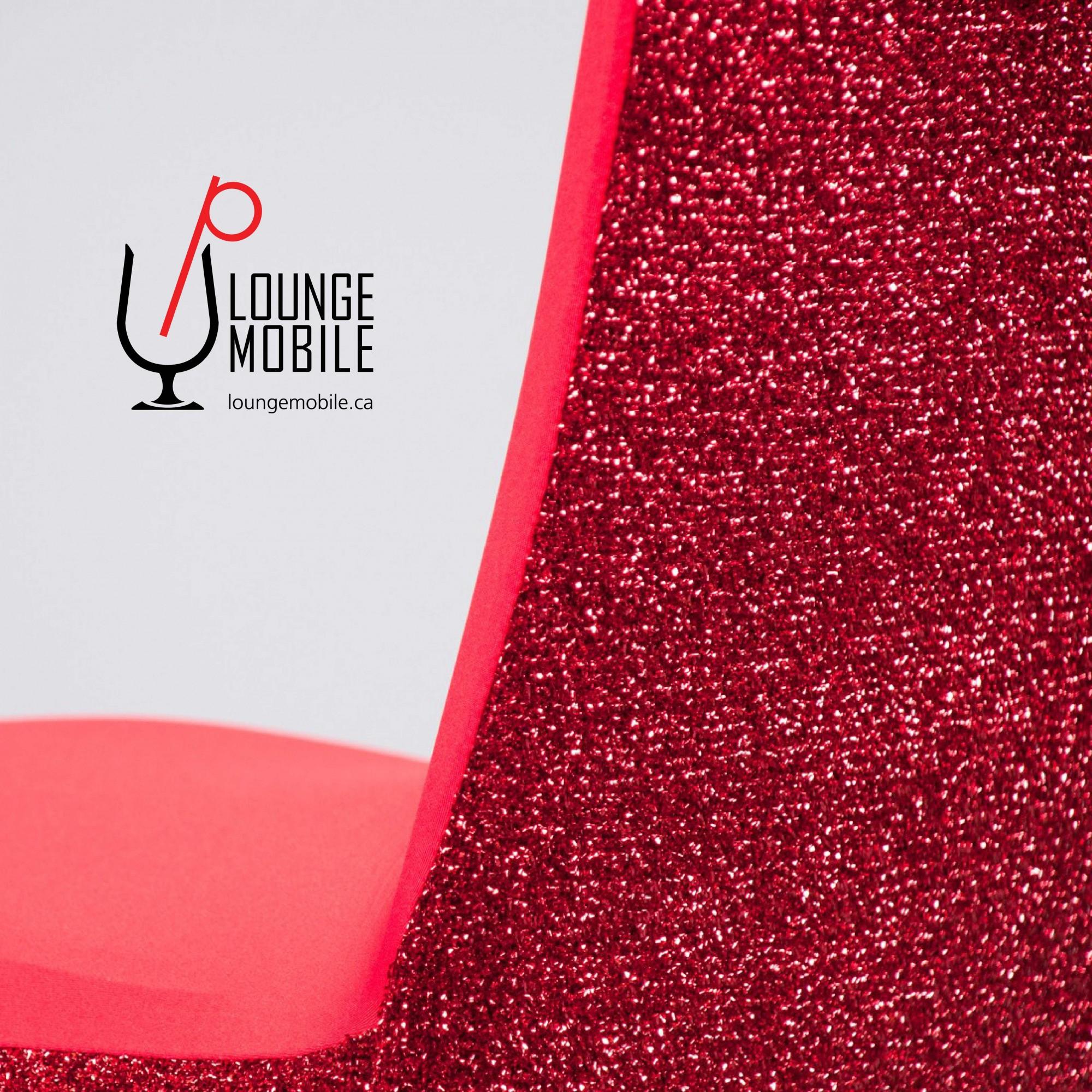 Housse de chaise lycra avec brillants rouge housses de for Housse lycra