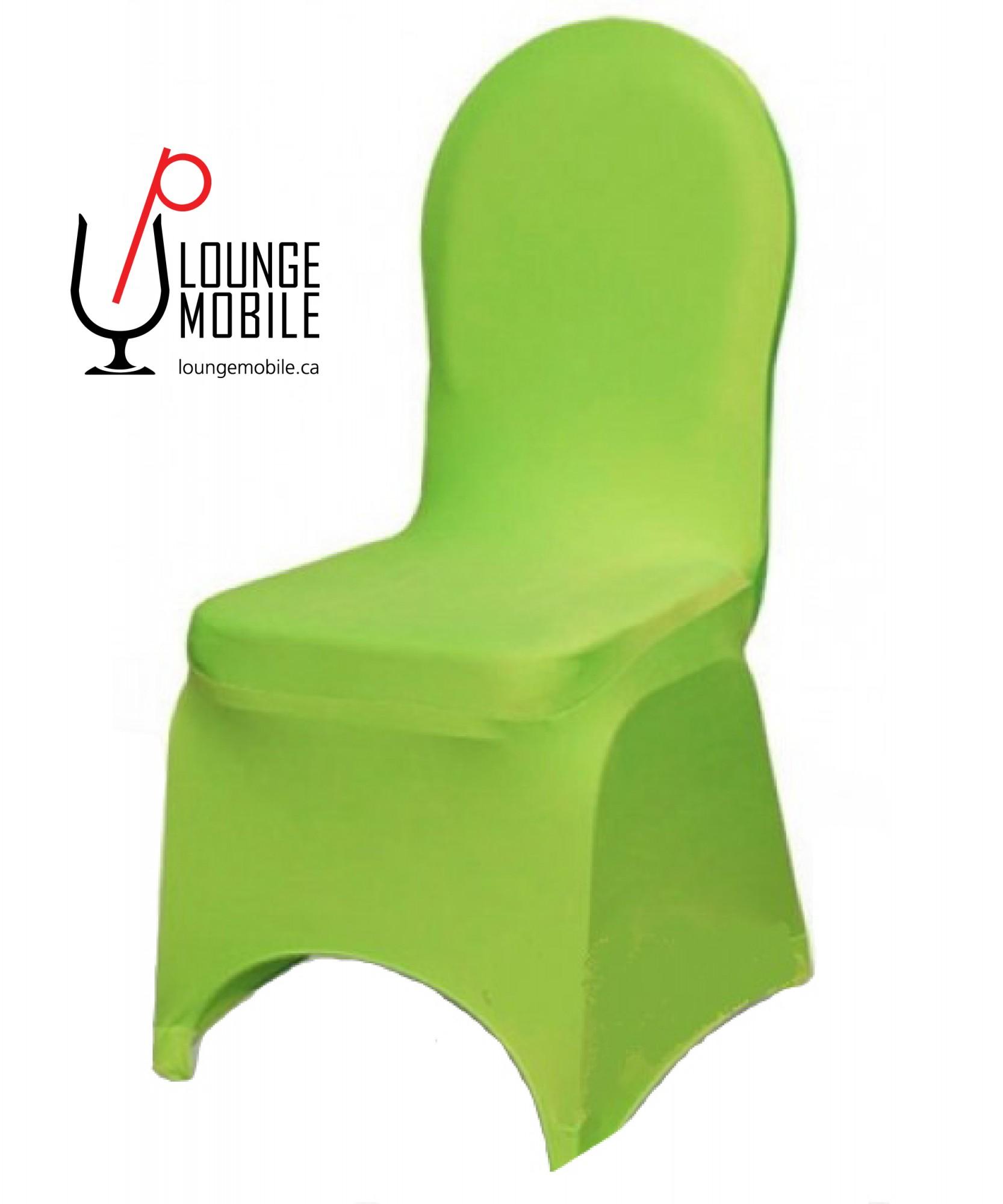 housse de chaise lycra vert lime d coration les productions c l brason site officiel. Black Bedroom Furniture Sets. Home Design Ideas