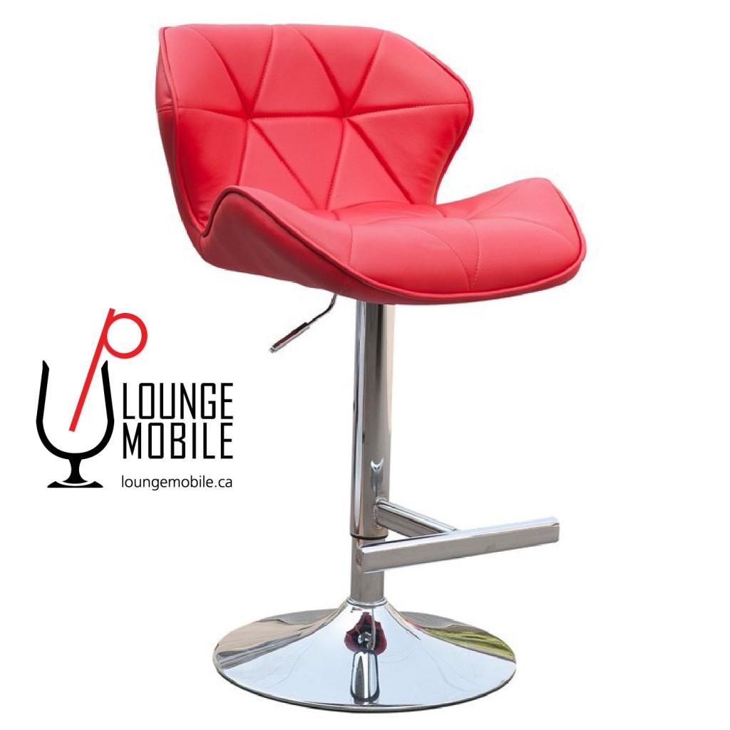 banc tabouret de bar rouge chaises et bancs les productions c l brason site officiel. Black Bedroom Furniture Sets. Home Design Ideas