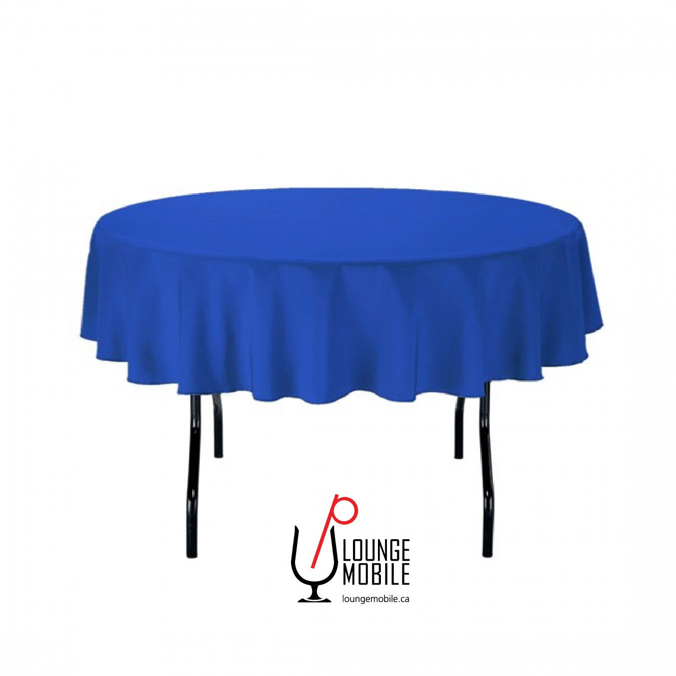 nappe ronde polyester 70 39 39 bleu royal nappes rondes les productions c l brason site officiel. Black Bedroom Furniture Sets. Home Design Ideas