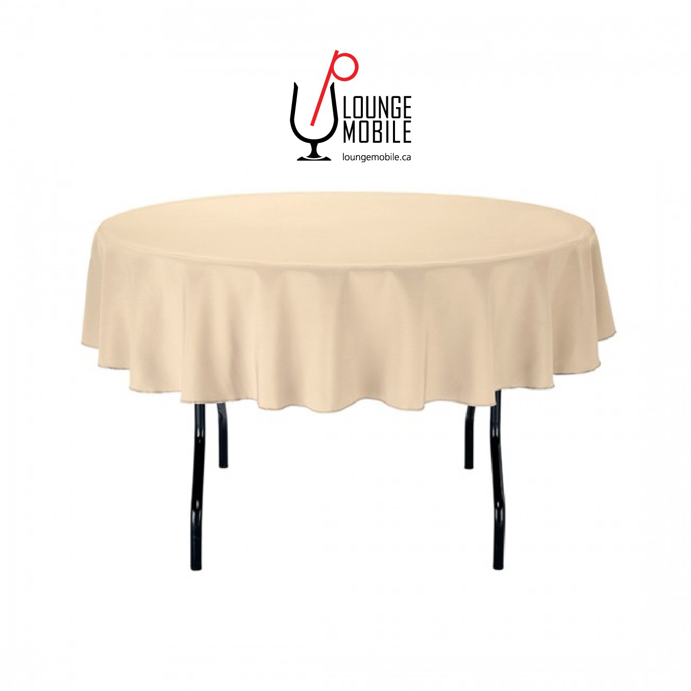 nappe ronde polyester 70 39 39 beige nappes les productions c l brason site officiel. Black Bedroom Furniture Sets. Home Design Ideas