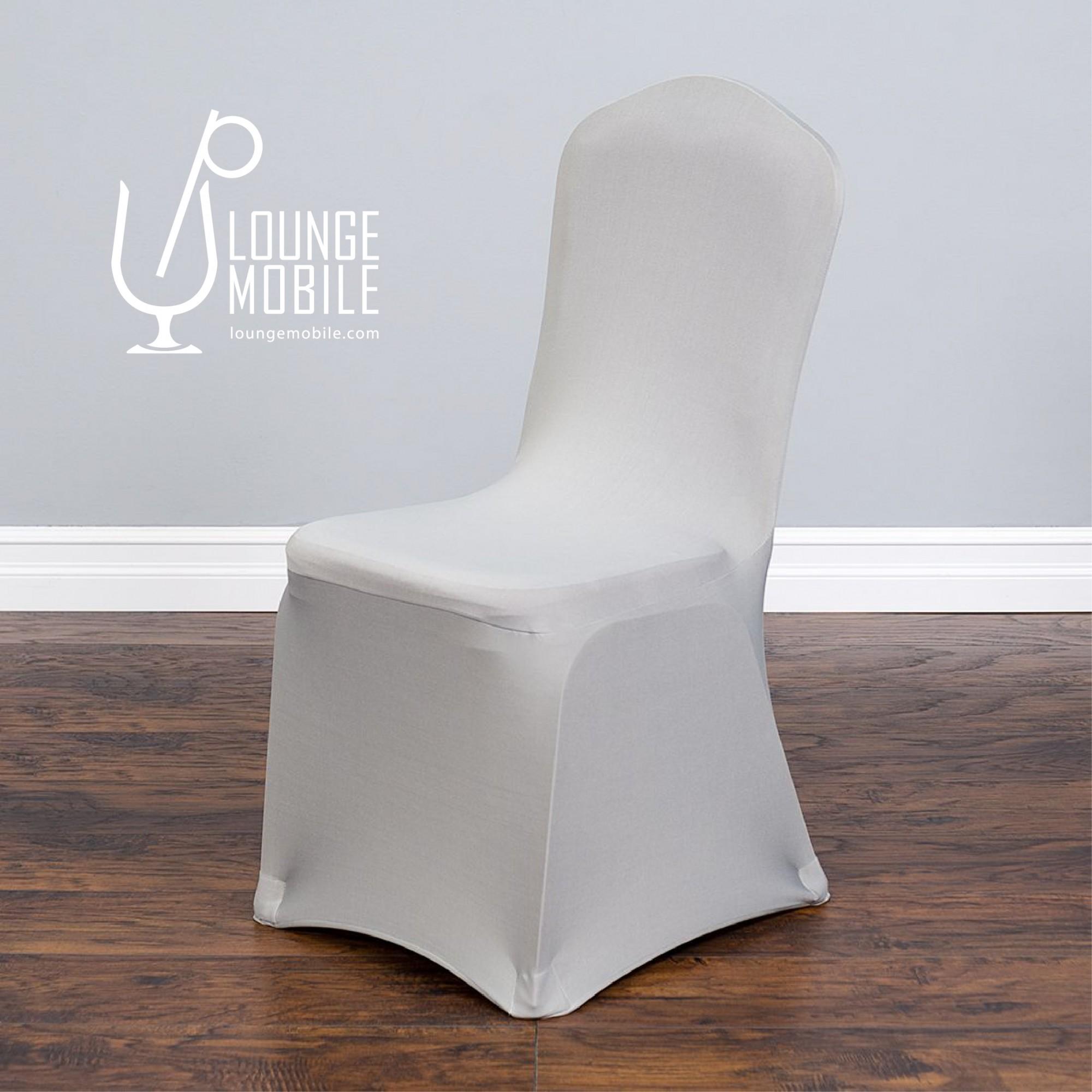 housse de chaise lycra argent housses de chaises les productions c l brason site officiel. Black Bedroom Furniture Sets. Home Design Ideas